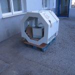 Ohišje detektorja kovin za hlodovino